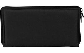 "NCStar 2904B Pistol Case Range Bag Insert 600D PVC 13"" x 7"" x 1.4"" Black"