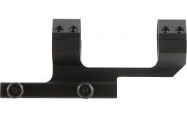 "Aim Sports MTCLF115 1-Pc Base & Ring Combo Cantilever Style For Universal Rifle Black Hard Coat Anodized Finish 1"" Ring 1.5"""