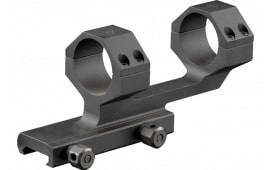 """Aim Sports MTCLF317 1-Pc Base & Ring Combo Cantilever Style For Universal Rifle Black Hard Coat Anodized Finish 30mm Ring 1.75"""""""