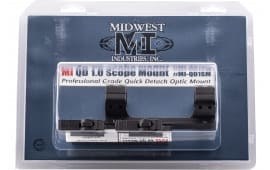 "Midwest MI-QD1SM 1"" QD Scope Mount 1.5""OFFSET"