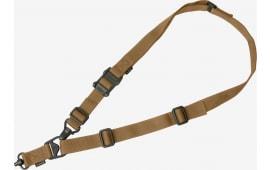 "Magpul MAG515-COY MS3 Single QD Sling GEN2 1.25"" Nylon Webbing Coyote Adjustable"