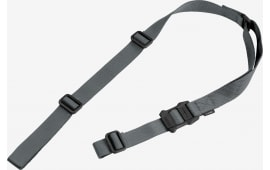 "Magpul MAG513-GRY MS1 48""- 60"" x 1.25"" Nylon Webbing Gray Adjustable"