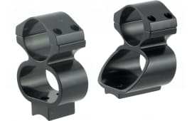 Ironsighter 730 See-Thru Mounts For Remington 7400,7600 Black Finish