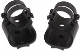 Weaver Mounts 49714 2-Piece Base/Rings For Remington 7400,7600 See Thru Style Black Gloss Finish