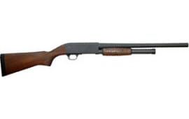Ithaca Gun HD1218W M37 Defender 12 GA 18.5 Black Walnut 5rd Shotgun
