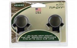 "Weaver Mounts 49819 Pro View Weaver Style 1"" Dia Medium Gloss Black"
