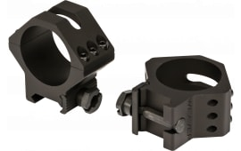 Weaver Mounts 99682 Six-Hole Rings Ring Set 34mm Low Black