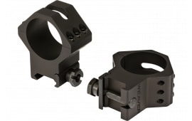Weaver Mounts 99684 Six-Hole Rings Ring Set 34mm High Black
