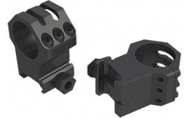 Weaver Mounts 99695 Tactical 30mm Dia XHigh Matte Black