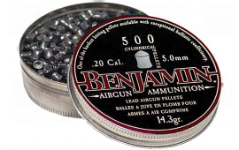 Benjamin P50 .20 (5mm) Cylinder Pellets Lead 500 Count