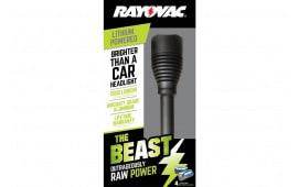 Rayovac RWP123AB Beast Flashlight 2000 Lumens 123A (4) Black