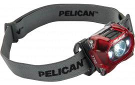 Pelican 2760C Headlight Trans Red G3