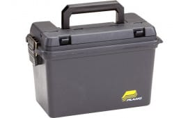 """Plano 161298 Field Box without Tray Portable Deep 6 Boxes 3"""" Shells Plastic Black"""