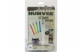 Humvee Accessories HMV6FP12 12 Piece Light Stick Family Pack White/Blue/Red/Green/Orange