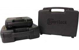"Birchwood Casey 03004 Single Handgun Case Plastic 7.5"" x 13.5"" x 3"" Black"
