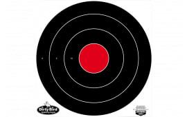 "Birchwood Casey 35185 Dirty Bird Bull''s-Eye 17.25"" Black/Red Heavy Tag Board 5 Pack"
