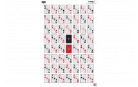 Birchwood Casey 37028 EZE Scorer 23X35 52 Card TRGT 100