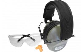 Birchwood Casey 43425 Vektor Earmuffs/Shooting Glasse Combo Clear
