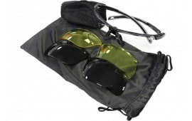 Birchwood Casey 43453 Convert Shooting/Sporting Glasses Clear/Clear/Smoke