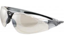 Howard Leight R01708 HL804 Shooting/Sporting Glasses Gray Frame/Silver Mirror Lens