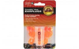Howard Leight R02237 TrustFit Pod Corded Earplugs 28 dB Orange/Yellow 3 Pair