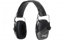 Howard Leight R02524 Impact Sport w/Deluxe Headband Electronic 22 dB Black