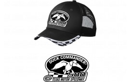 Duck Commander DHDC50001 Logo Hat Mesh Black One Size Cotton/Poly 10Pk