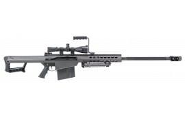 "Barrett 13317 M82 A1 with Scope Semi-Auto .50 BMG 29"" FB 10+1 Fixed Metal Black Phosphate"