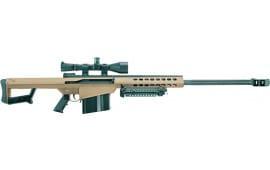 Barrett 14024 82A1 50BMG 29 W Leupold MARK4 Case Bipod