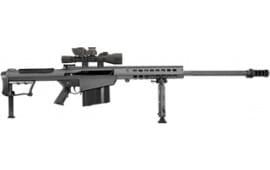 "Barrett 14019 M107A1 50BMG 29"" Fluted Barrel Black Leupold MARK4 M1"