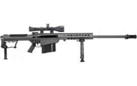 "Barrett 14018 M107A1 50BMG 29"" Fluted Barrel Black Leupold MARK4 M1"