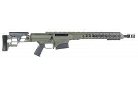 """Barrett 14365 MRAD Bolt 308 Winchester 17"""" 10+1 Folding Metal OD Green Stock OD Green/Black"""