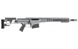 """Barrett 14368 MRAD Bolt 308 Winchester 17"""" 10+1 Folding Metal Gray Stock Gray Cerakote"""