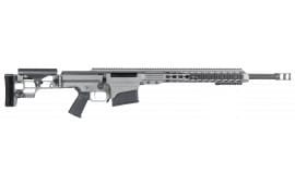 "Barrett 14370 MRAD Bolt 308 Winchester 22"" 10+1 Folding Gray Stock Gray Cerakote/Black"
