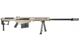 "Barrett 14559 M107A1 SA 50 BMG 29"" 10+1 Fixed Stock FDE / Black"