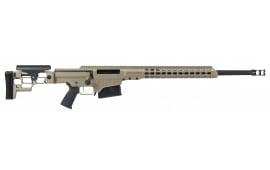 "Barrett 14374 MRAD Bolt .338 Lapua . Magnum 24"" 10+1 Folding Flat Dark Earth Stock FDE/Black"
