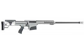 "Barrett 14803 M98B .300 Win 24"" 10+1 Fixed Metal Gray Stock Gray Cerakote"