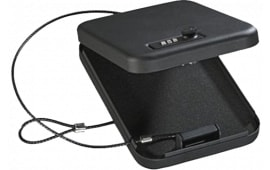 "Stack-On PC95C Combination Lock Portable Security Case 6.5"" x 9.5"" x 1.75"" Black"