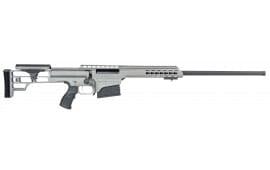 "Barrett 14813 M98B .300 Win 24"" 10+1 Fixed Metal Gray Stock Gray Cerakote"