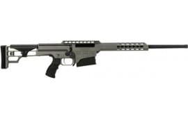 Barrett 14816 98B 6.5 Creedmoor 22 Fieldcraft Gray Rcvr