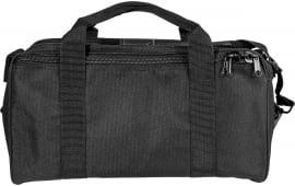 "Uncle Mikes 22520 Gun Mate Range Transport Bag Nylon Black 16"" x 8"" x 7"""