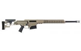 "Barrett 15470 MRAD Bolt 7mm Rem . Magnum 24"" 10+1 Folding Flat Dark Earth Stock FDE/Black"