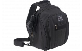 "Bulldog BDT408B Sling Pack Small Backpack Nylon 14"" x 10"" x 7"" Black"