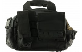 "Bulldog BDT940B Tactical Range Bag with Molle Mag Pouches 17"" L x 12"" H x 6"" D Black"