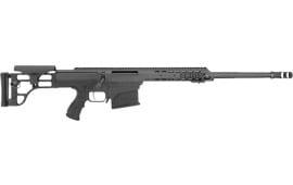 Barrett 14806 98B 338 LAP FLD CFT 24 Lght Barrel Black