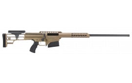 "Barrett 14818 M98B Fieldcraft Bolt .338 Lapua . Magnum 24"" 10+1 Fixed Metal Bronze Stock Bronze"