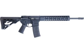 "Luxus Arms (HM DEFENSE) HM15F-MB-556 Defender M5 16.00"" 30+1 Black Hardcoat Anodized Black Mil-Spec HM Stock"