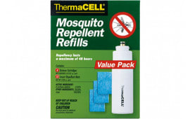 Thermacell R4 Thermascent Refill Mat and Butane Mosquito, Black Fly, No-See-Ums