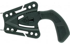 "Ka-Bar 9908 TDI Tactical 2.6"" Ultramid Synthetic Spear Point Black Synthetic Black"