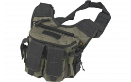 """US PeaceKeeper P20305 Rapid Deployment Pack Range Bag Tactical 600D Polyester 12"""" x 10"""" x 3"""" OD Green"""